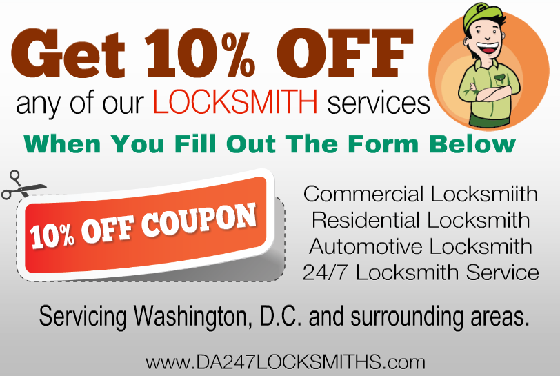 locksmith discount in washington dc