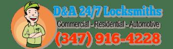 Logo - D&A 24/7 Locksmiths Brooklyn